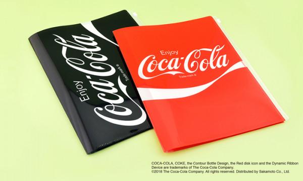 コカ・コーラ 6ポケットファイル