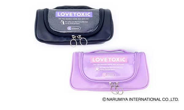 Lovetoxic フラップペンポーチ